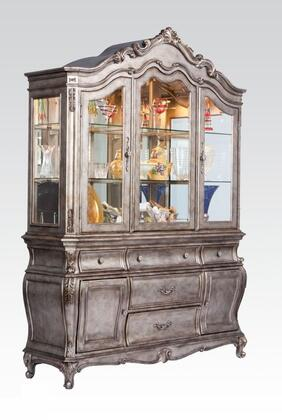 Acme Furniture Chantelle 60544 China Cabinet Gray, China Cabinet