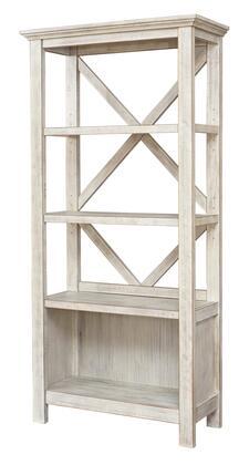 Signature Design by Ashley Carynhurst H75517 Bookcase White, Main View