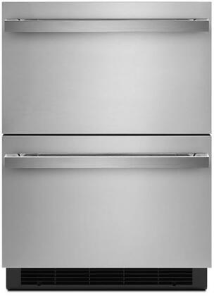 Jenn-Air NOIR JUDFP242HM Drawer Refrigerator Stainless Steel, JUDFP242HM Front View
