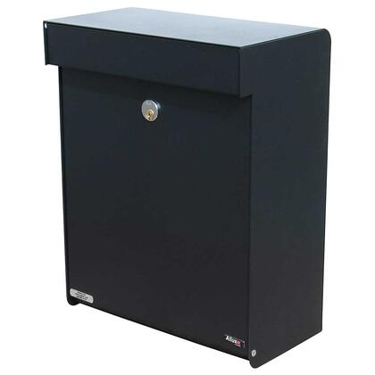 ALX-GRM-BK Allux Series Mailboxes Grandform in