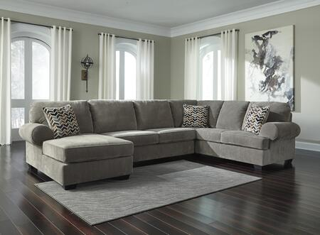 Signature Design by Ashley Jinllingsly 72502163467 Sectional Sofa Gray, 72502 16 34 67