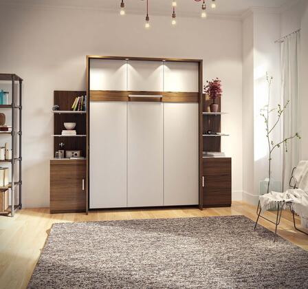 Bestar Furniture Cielo 8088030 Bed Multicolor, Main Image
