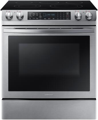 Samsung NE58R9431SS Slide-In Electric Range Stainless Steel, NE58R9431SS Front View