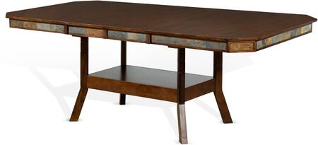 1151DC2 Santa Fe Extension Table   in Dark