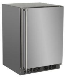 Marvel  MORE124SS31A Compact Refrigerator Stainless Steel, MORE124 SS31A Outdoor Refrigerator