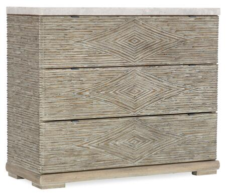 Hooker Furniture American Life-Amani 16728500400 Chest of Drawer, Silo Image