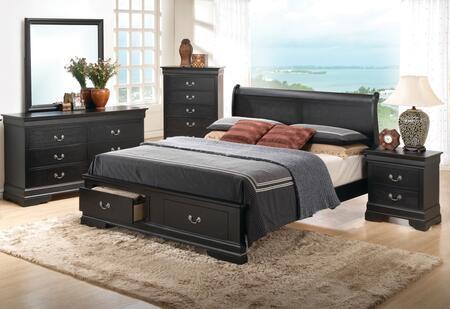Glory Furniture G3150 5 Piece Queen Size Bedroom Set