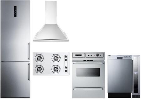 Summit 1114329 Kitchen Appliance Package & Bundle Stainless Steel, main image