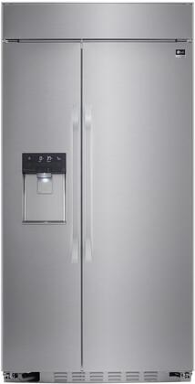 LG Studio  LSSB2692ST Side-By-Side Refrigerator Stainless Steel, Front