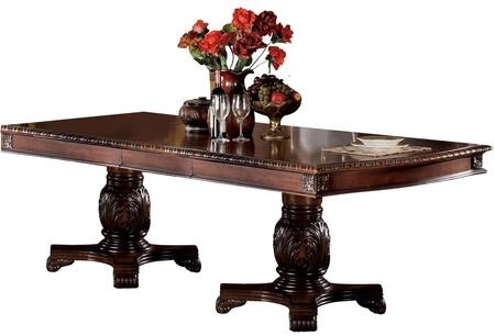 Acme Furniture Chateau de Ville 04075 Dining Room Table Brown, Main Image