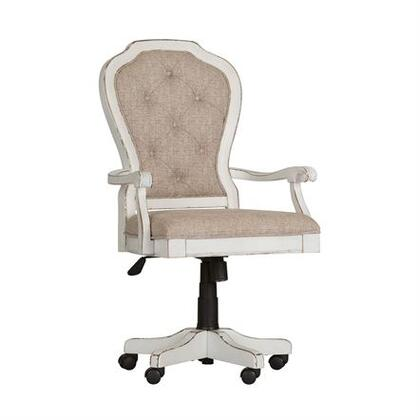 Liberty Furniture Magnolia Manor 244HO197 Office Chair White, Main view