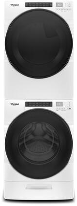 Whirlpool  979028 Washer & Dryer Set White, Main Image
