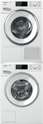 Miele 890702 Washer & Dryer Set White, Main Image