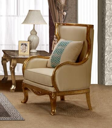 Cosmos Furniture Majestic 3037BGMAJ Living Room Chair Gold, DL d4e33ef0e1a375db30ba1c296363