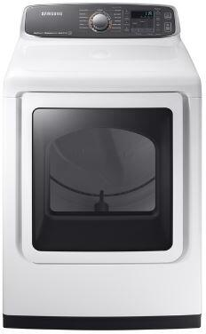 Samsung DVG52M7750W Gas Dryer White, Main Image