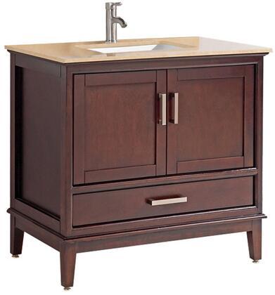 Sierra Collection MTD-6124T 24″ Single Sink Bathroom Vanity Set in