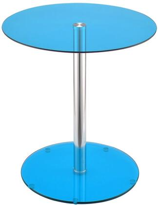 Acme Furniture Halley 81942 End Table Blue, End Table