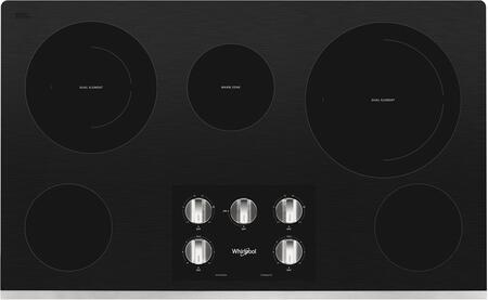 Whirlpool  WCE77US6HS Electric Cooktop Stainless Steel, Main Image