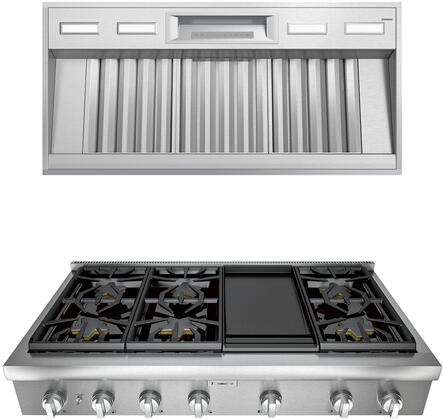Thermador Professional 1072277 Kitchen Appliance Package Stainless Steel, main image