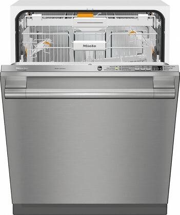 Miele Crystal G6665SCVISF Built-In Dishwasher Stainless Steel, G6665SCVISF Fully-Integrated, Full-Size Dishwasher