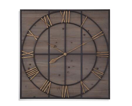 Bassett Mirror Eldridge MC4019EC Wall Clocks Brown, mc4019EC