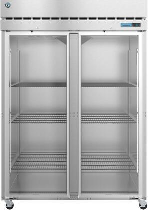 Hoshizaki Steelheart R2AFG Reach-In Refrigerator Stainless Steel, R2AFG Front View