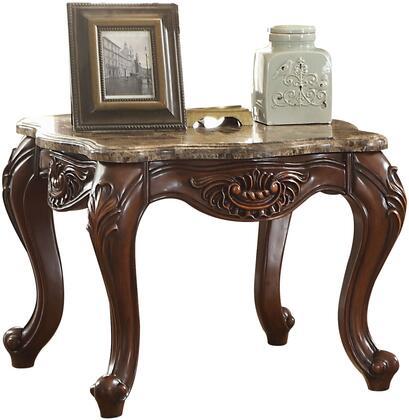 Acme Furniture Jardena 81657 End Table Brown, 1