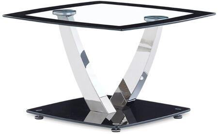 Global Furniture USA T716 T716ET End Table Black, Main Image