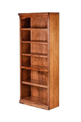 Forest Designs  6114TM72HGO Bookcase Brown, Main Image