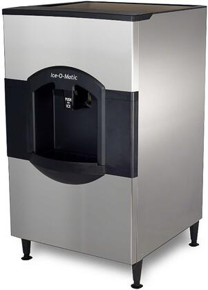 Ice-O-Matic CD40030 Ice Bins and Dispenser, Angled View of the Front and Side