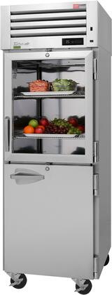 PRO-26R-GSH-N 29″ Pro Series Glass & Solid Half Door Reach-In Refrigerator with 25.15 cu. ft. Capacity  Self-Cleaning Condenser  Digital Temperature