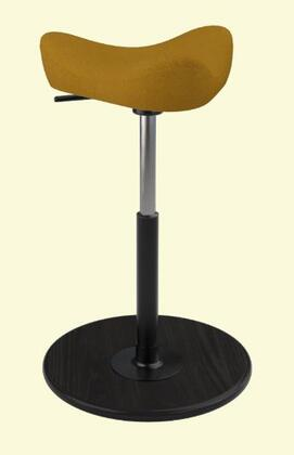 Varier Move Small MOVESMALL2700HALLINGDALE526BLKSMBLK Office Stool, Main Image