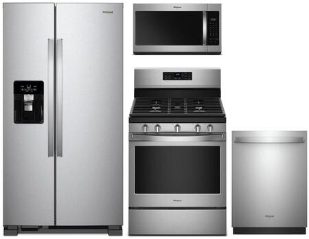 Whirlpool 1115564 Kitchen Appliance Package & Bundle Stainless Steel, main image