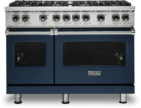 Viking 5 Series VGR5488BSB Freestanding Gas Range Blue, VGR5488BSB Gas Range