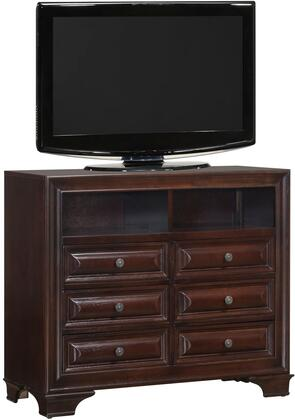 Glory Furniture LaVita G8875TV Chest of Drawer Brown, Main View