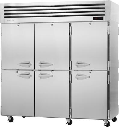 PRO-77-6H-PT 78″ Pro Series Solid Half Door Pass-Thru Heated Cabinet with 73.9 cu. ft. Capacity  Digital Temperature Control & Monitor System  Ducted