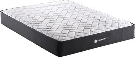 AS100 Collection AS1006 10″ King Size Pocket Spring Tight Top Mattress with Firm Feel  Non Skid Base  Individual Wrapped Pocket Spring and Quilted