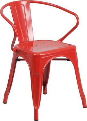 Flash Furniture CH31270REDGG
