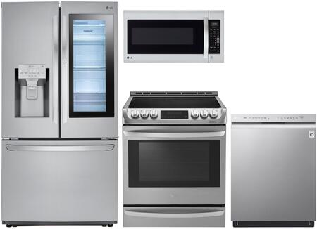 LG  973033 Kitchen Appliance Package Stainless Steel, Main Image