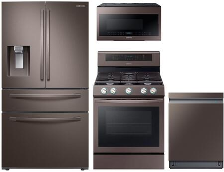 Samsung 1114804 Kitchen Appliance Package & Bundle Tuscan Stainless Steel, main image