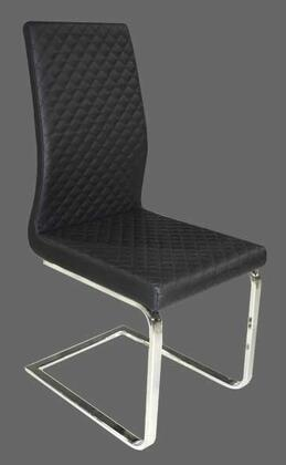 Grako Design  KRCS386STBLACK Dining Room Chair Black, Main Image