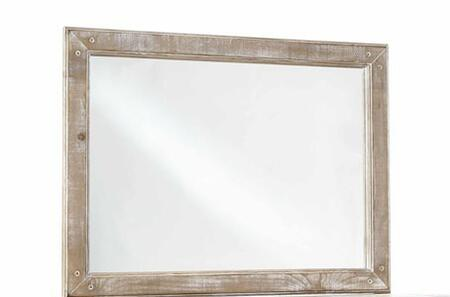Progressive Furniture Chatsworth B64350 Mirror Brown, Main Image