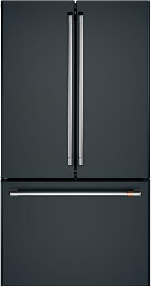 Cafe Customizable Professional Collection CWE23SP3MD1 French Door Refrigerator Black, Main Image