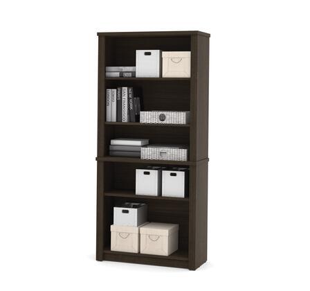 Bestar Furniture 607003179 Bookcase, bestar embassy 60700 79 dark chocolate 1