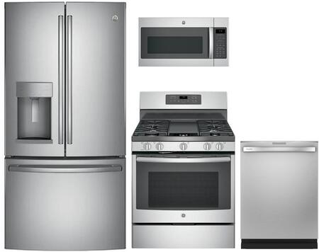 GE 869268 Kitchen Appliance Package & Bundle Stainless Steel, main image