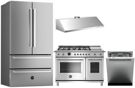Bertazzoni 1054785 Kitchen Appliance Package & Bundle Stainless Steel, main image