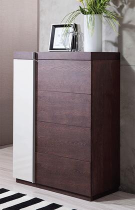 VIG Furniture Modrest Geneva VGWCG509 Chest of Drawer Brown, 1