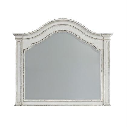 Liberty Furniture Magnolia Manor 244BR52 Mirror White, 244 br52