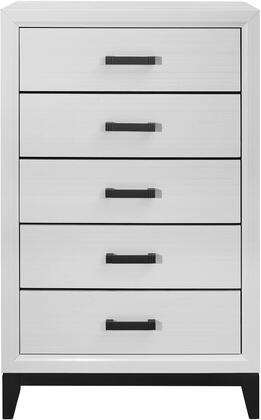 Global Furniture USA Global Furniture USA KATEWHITECH Chest of Drawer White, IjhZiIwI.jpeg