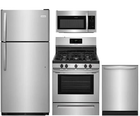 Frigidaire  826322 Kitchen Appliance Package Stainless Steel, main image